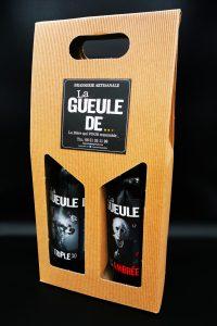 coffret cadeau 2 bouteilles La gueule de