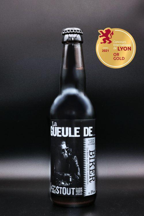 Gueule de biker 33cl medaille d'or 2021