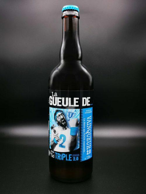 biere artisanale gueule de vainqueur 75cl